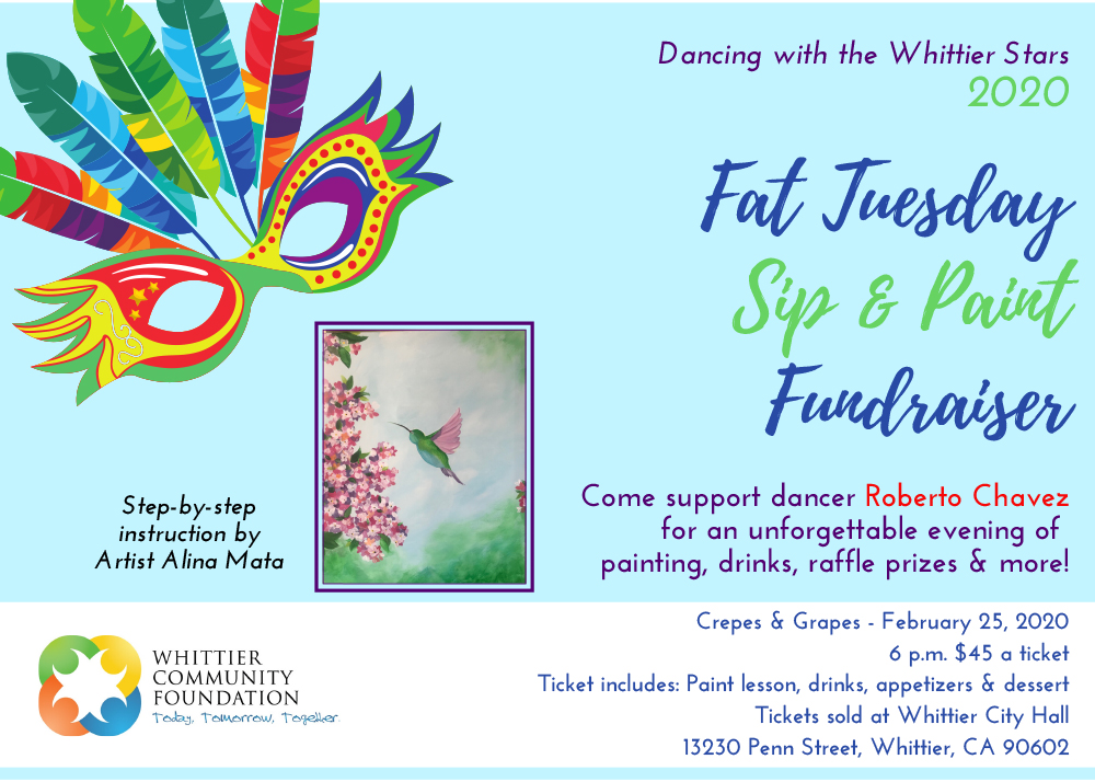 Sip And Paint Flier