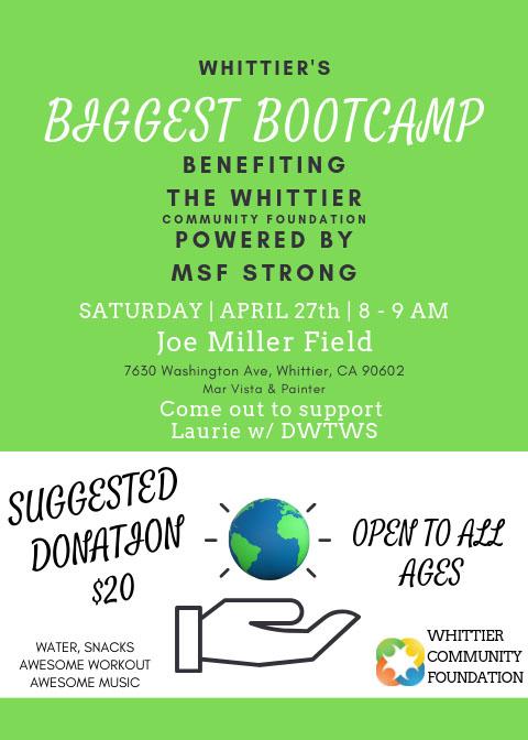 bootcamp-fundraiser